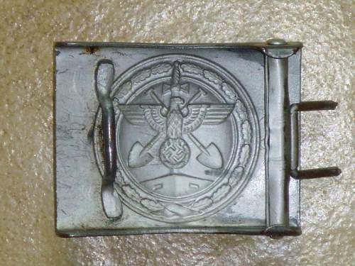 Organisation Todt buckle: opinions needed