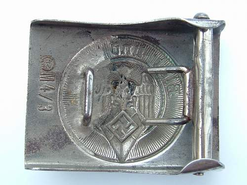 Click image for larger version.  Name:M4_3 Nickel over steel HJ by Kallenbach, Meyer & Franke, Luckenwalde Rear.jpg Views:29 Size:129.5 KB ID:447462