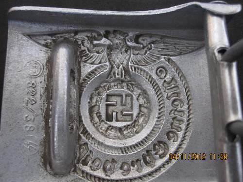 a lot of fakes from a seller - now  offering this belt buckle for review