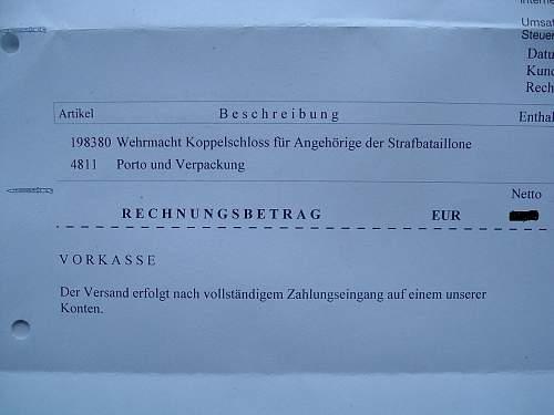 Strafbatailione Koppelschloss