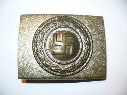 Swastika buckle