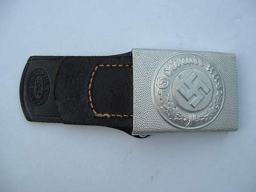 question for Ben Police Buckles