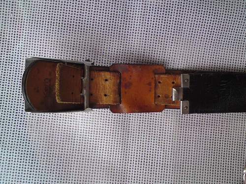 Heer parade belt.