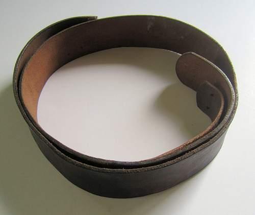 Luftwaffe brown belt