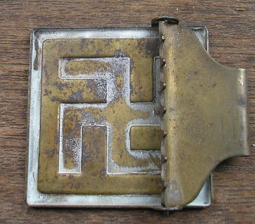 Offered a job lot of buckles...