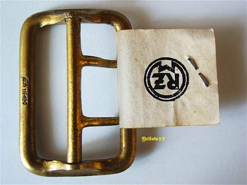 Two claw buckle of  NSDAP