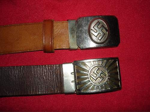 Some small buckles