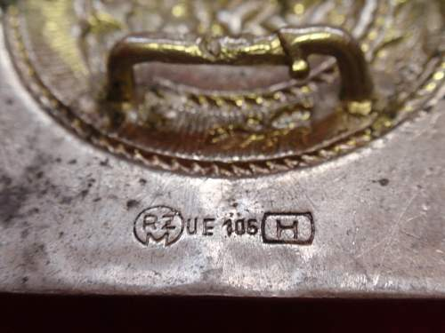 Identifying early RZM, MA, KH and UE Buckle Markings