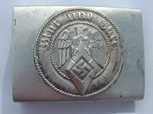 Buckle for young Patrick