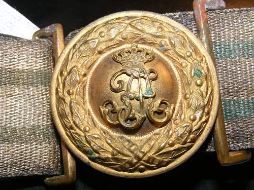 Belt and Buckle. What is it???