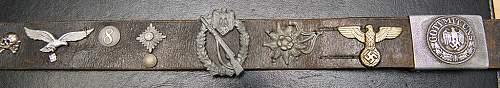 Hate/Souvenir belt