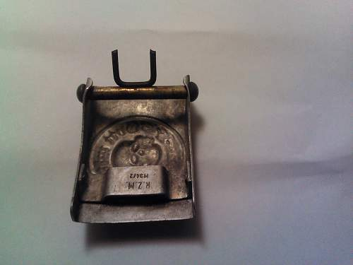 Is this Totenkopf belt buckle authentic, or a fantasy item?