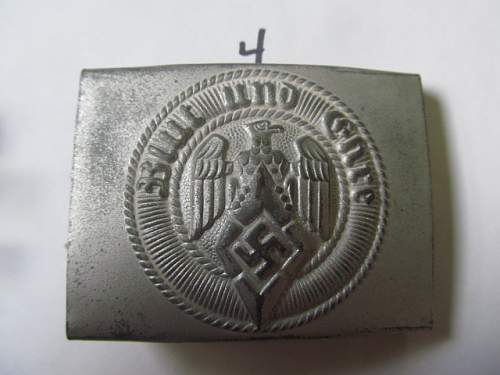 fakes or real nazi  belt buckles ?????????