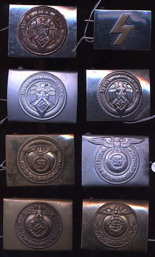My small buckle collection