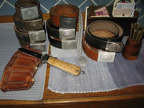 Buckles + Belts Etc