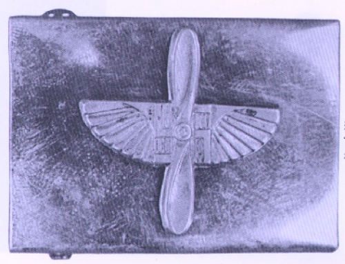 Unknown belt buckle in Angolia's book