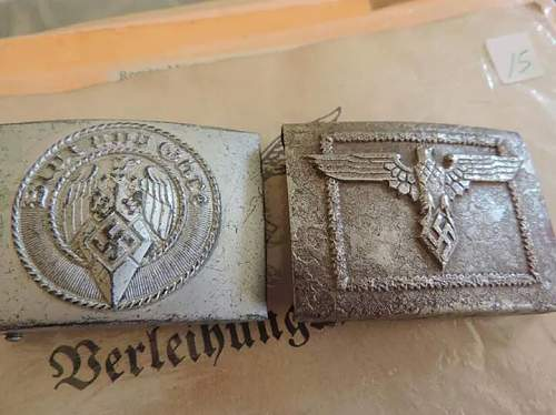 hitler youth and npea buckles real or fake