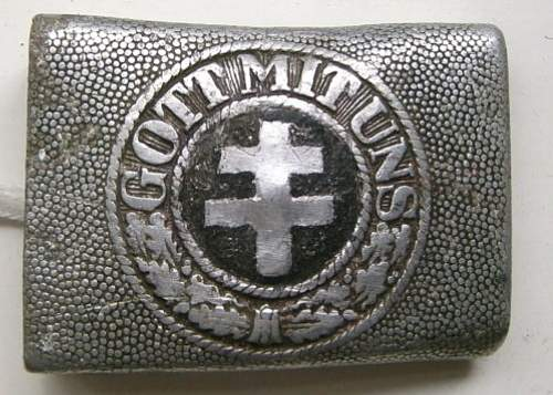 Thoughts on French resistance buckle?