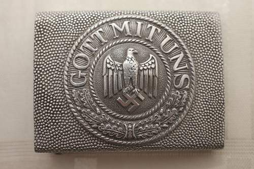 New German Belts and Buckles