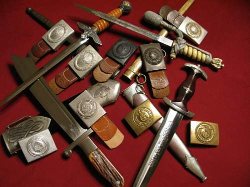 Buckles w/Daggers - Mixed Categories