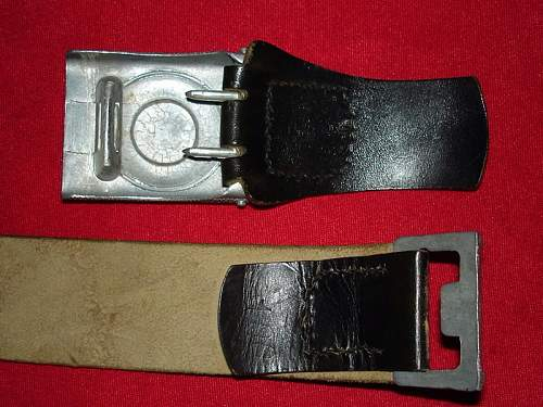 Black Leather Tabs