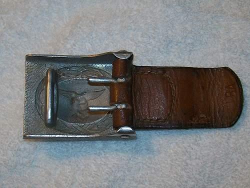 Luftwaffe belt