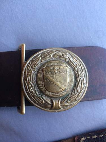 Can't Identify Buckle, WWI Officer?