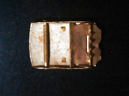 Please Help Me Identify This Buckle