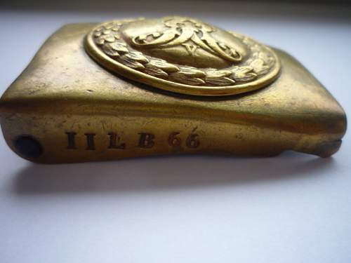 Hanoverian Infantry Regiment No. 66. II. Battalion buckle