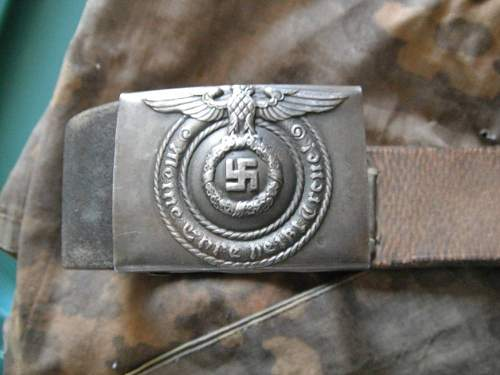 Luftwaffe ans SS belt/buckle