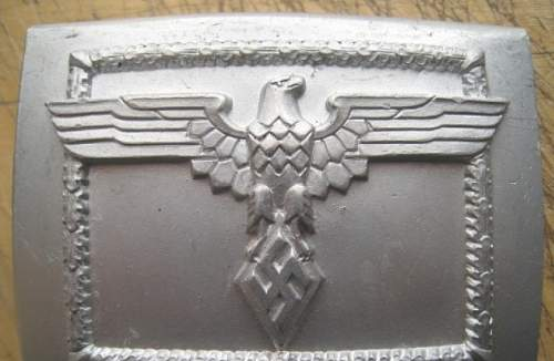 NPEA belt and buckle Genuine?