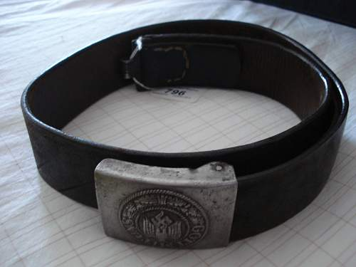 belt/buckle help