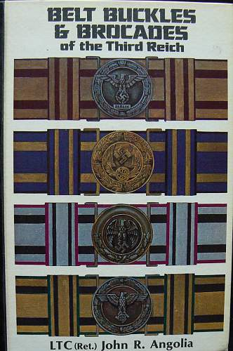 German Belts, Brocades and Straps from 1900-1945