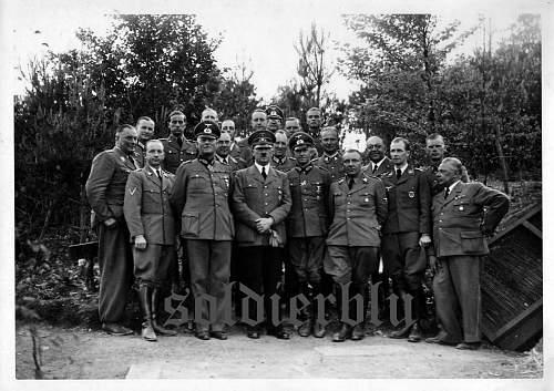 Hitler's FHQu Felsennest France 1940