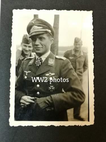 Oberleutnant Franz von Werra, photos..