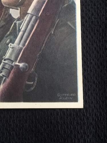 Gottfried Klein Postcards