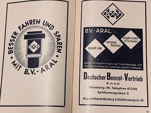 1933 Nurnberg Items