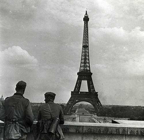Soldaten in Paris