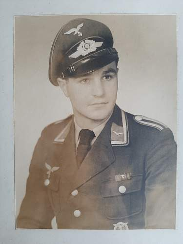 Framed Luftwaffe Portrait