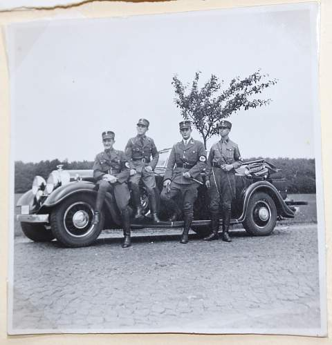 Photo album of SA and Wehrmacht