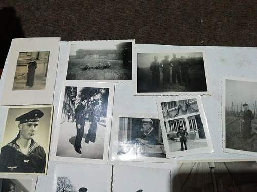 KM photo grouping. BORDKOMMANDO