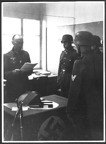 WWII photobook of my grandfather served in Rgt. 616 WH 16