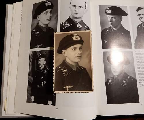 Two Panzermann portraits.