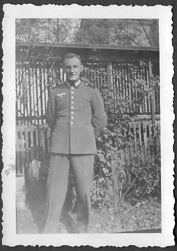 WWII photos of the brother of my grandmother