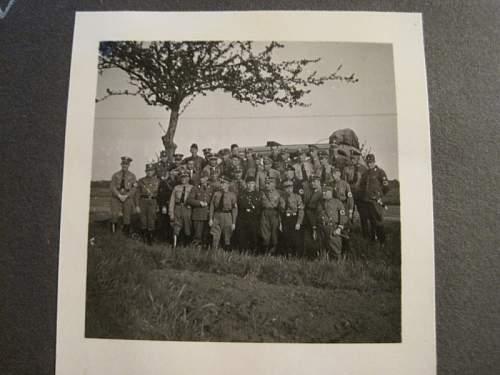 Antic Shop Find SS SA HJ Photo Album , He Looks Familiar