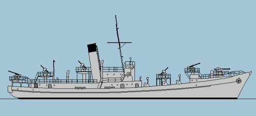 Admiral Raeder photo. Strange boat in background.