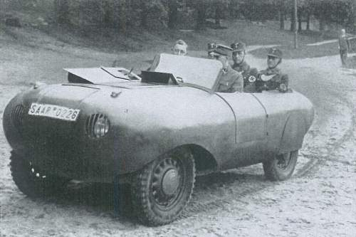 Strangest German Car ever seen but What is it