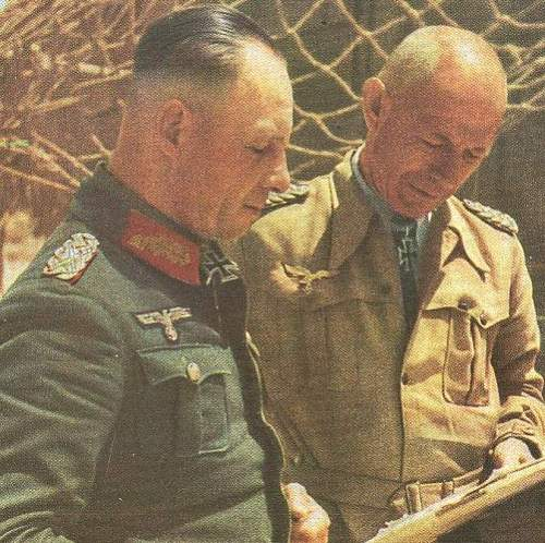 Who is Luftwaffe Officer with Rommel in Tobruk?