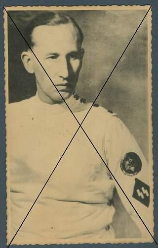 Reinhard Heydrich Photo or Postcard