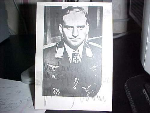 Rudel signed photo